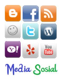 """Media Sosial Jejaring Sosial Social Media Social Network Wibawa Adi Putra À¹€à¸§ À¸šà¹""""ซต"""